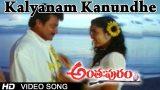 Kalyanam Kanundhe Video Song | Anthapuram